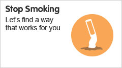 Stop Smoking. Lets find a way that works for you