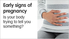 Early signs of pregnancy. Is your body trying to tell you something?