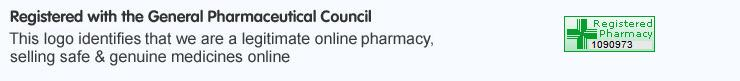 Registered with the General Pharmaceutical Council