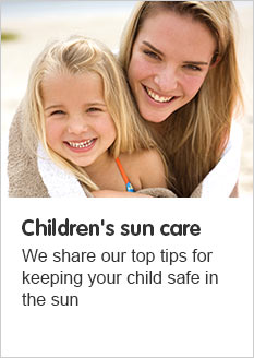 Childrens Suncare
