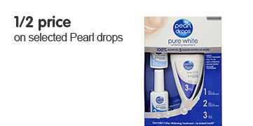 Half Price on selected Pearl Drops