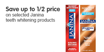 Save up to 50% on selected Janina