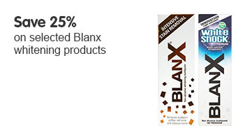 Save 25 percent on selected Blanx