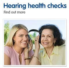 Hearing health checks find out more