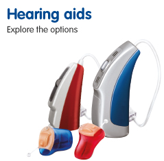 Hearing aids explore the options