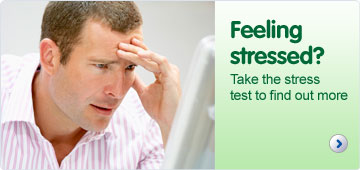 Feeling stressed? Take the stress test to find out more