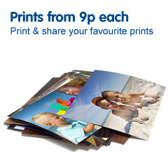 Prints from 9 pence each from Boots Photo