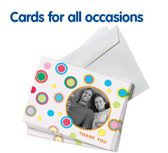 Photo cards for all occasions from Boots Photo