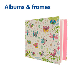 Photo albums and photo frames