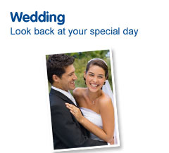 Wedding photo albums and photo frames