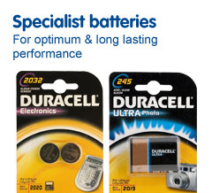 Specialist batteries