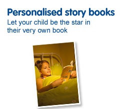 Personalised photo story books