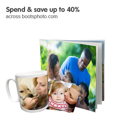 Spend & save up to 40% across Bootsphoto.com