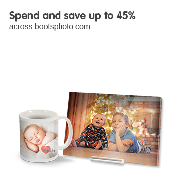 Spend and Save up to 45% across Bootsphoto.com
