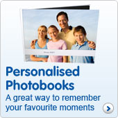 Personalised photobooks
