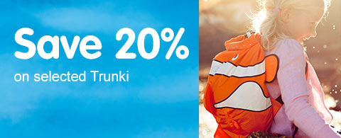 Save 20% on selected Trunki