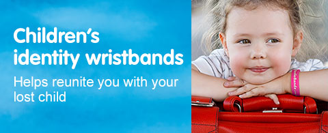 Childrens Identity wristbands