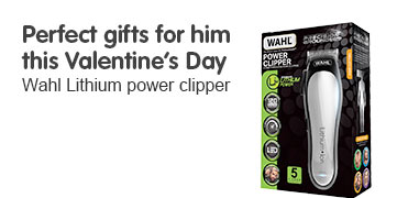 Perfect gifts for him this valentines day. Wahl lithium power clipper