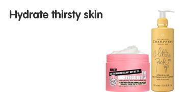 Hydrate thirsty skin