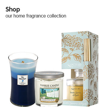 Shop our home fragrance collection
