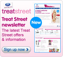 Sign-up for the Treat Street weekly newsletter