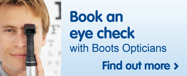 Book an eye check with Boots Opticians