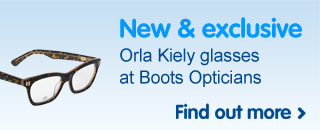 New & exclusive Orla Kiely glasses