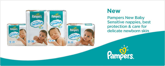 New Baby Sensitive Nappies